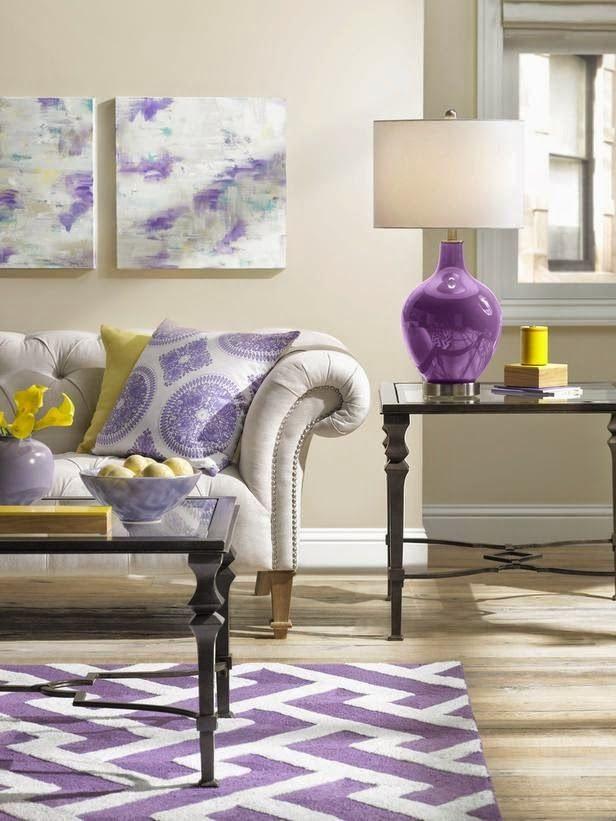 Die besten 25+ Lila akzent wände Ideen auf Pinterest Lila - wohnideen wohnzimmer lila farbe