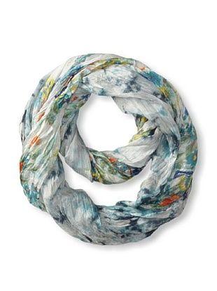 56% OFF Tolani Women's Tie Dye Infinity Scarf, Grey