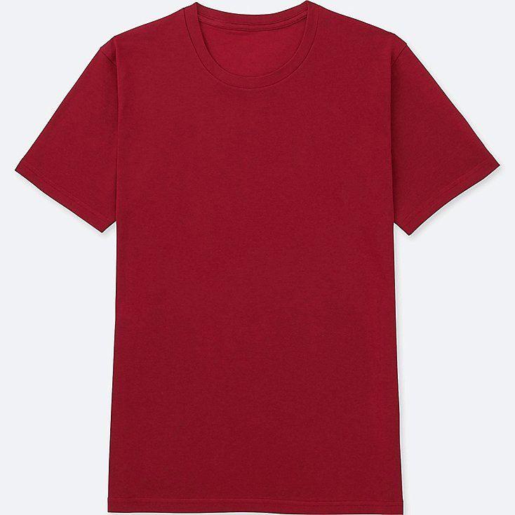 Download Men Packaged Dry Crewneck Short Sleeve T Shirt Pakaian Pria Kaos Kemeja