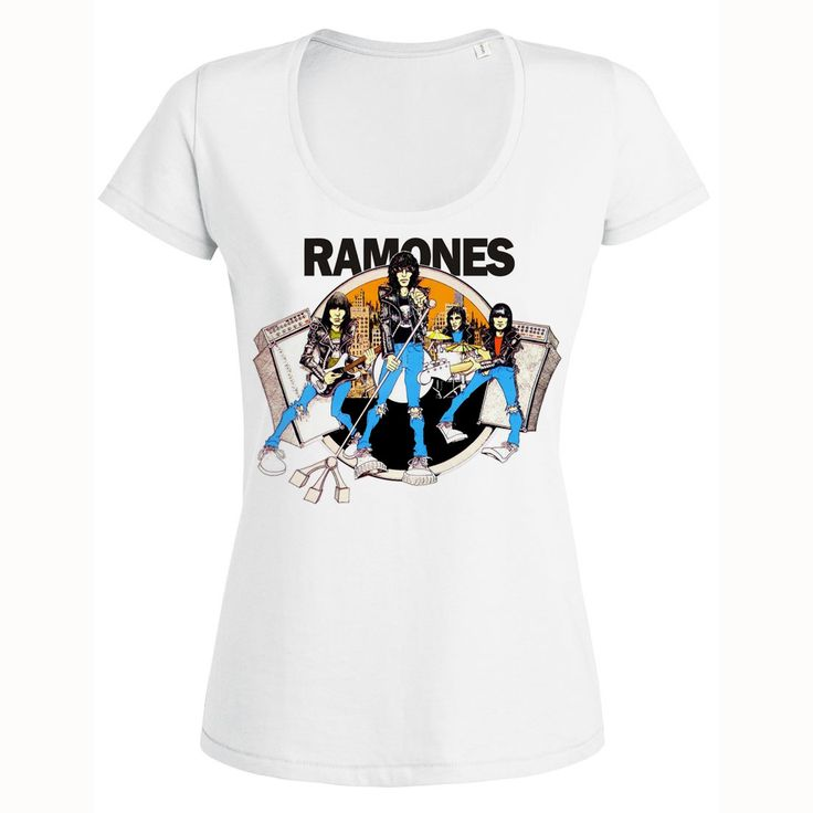 The Ramones T Shirt Womens Ramones Top Mens Ramones Shirt Ramones Blouse Ramones…