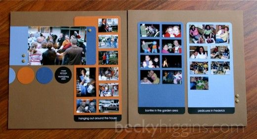 DIY grid layout: Diy Ideas, Scrapbook Ideas, Cards Ideas, Photos Ideas, Grid Layout, Multiplication Photos, 10 Photos