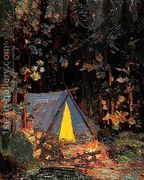 Campfire  by Tom Thomson