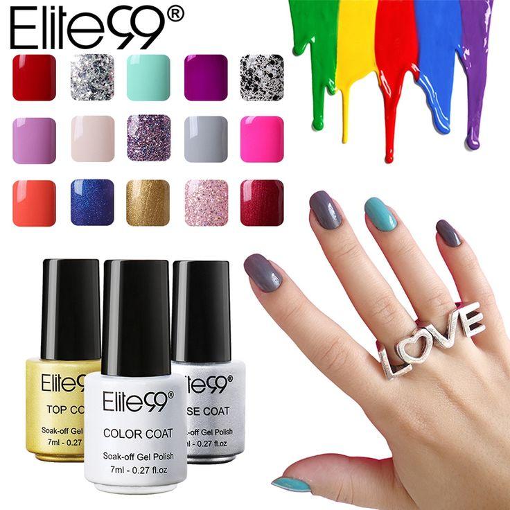 Elite99 7ml Gel Nail Polish 58 Color UV Nails Long Lasting Nail Polish Lacquer Best Gels for Nail Art Design #Affiliate