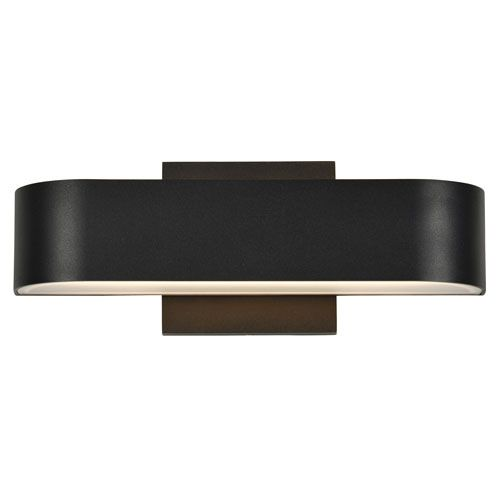 Montreal Black Two Light LED Outdoor Wall Sconce Access Lighting Wall Mounted Outdoor Ou