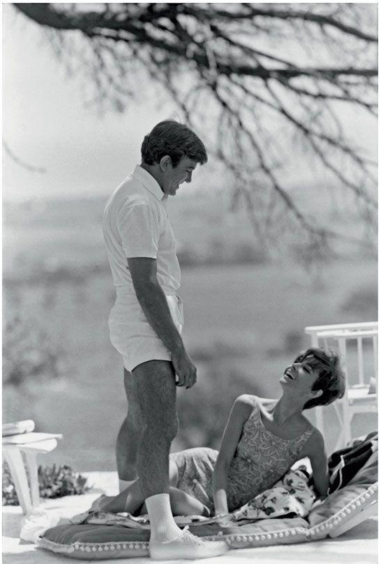 Audrey Hepburn and Albert Finney by Terry O'Neill