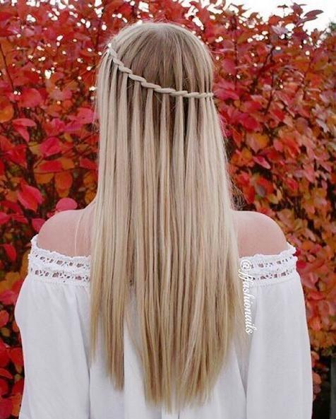 Folgen Sie dieser Schritt für Schritt Anleitung, um die perfekte Wasserfall Zopf! – Hair