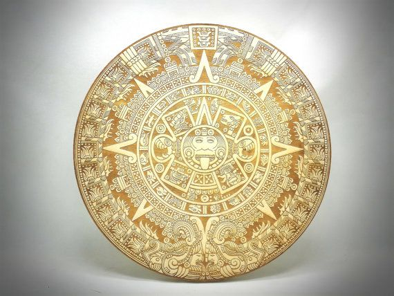 Hey, I found this really awesome Etsy listing at https://www.etsy.com/listing/469761643/wood-laser-engraving-aztec-calendar