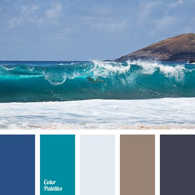 3174 best images about color palette on pinterest paint for Ocean blue color combinations