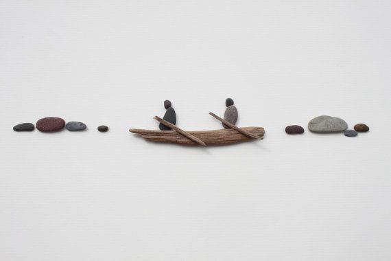 Out on the Water | Pebble Art of NS by Sharon Nowlan