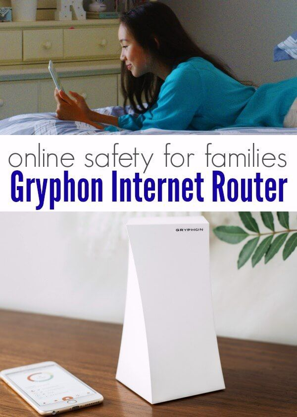 The Gryphon Internet Router is a simple tool for parents to manage online internet safety for their family - all from their phone!