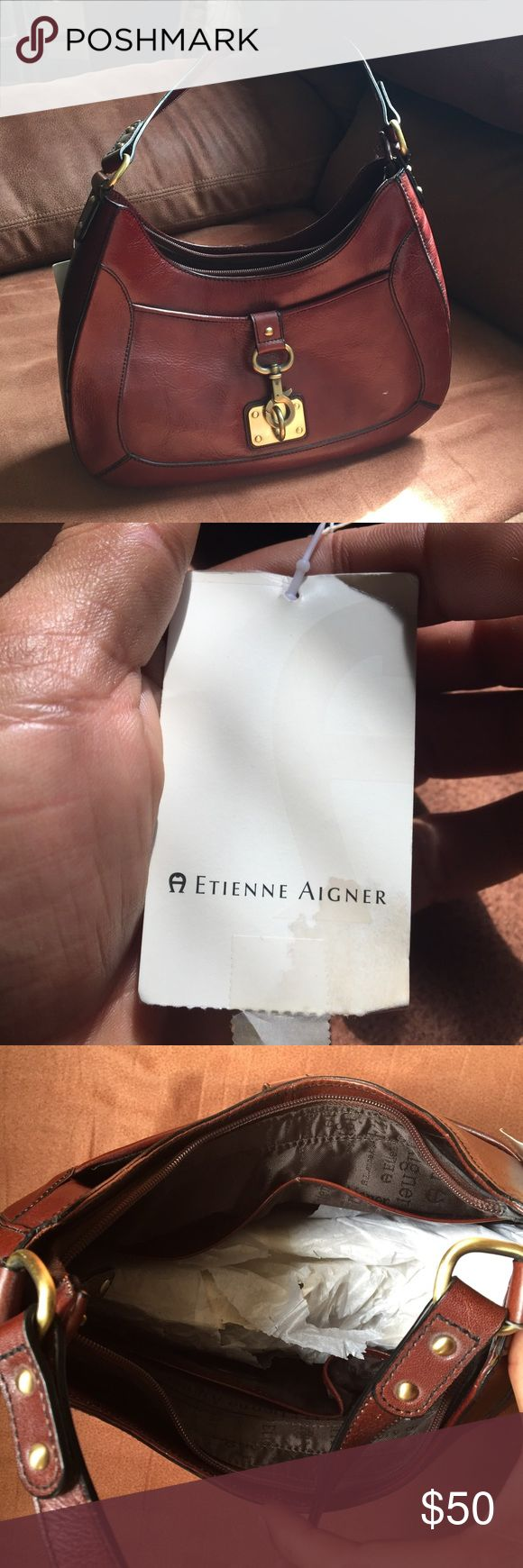 Etienne Aigner Handbag Brand new etienne aigner in perfect condition.100% real leather Etienne Aigner Bags Shoulder Bags