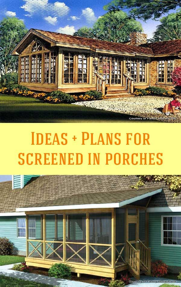 Wanting To Add A Screened Porch This Year Take An Unhurried Moment See What We Ve Gathered Here Get You Going