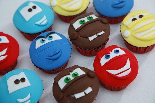 cars cupcakes!