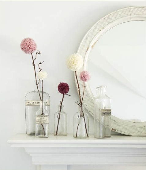Decoración moderna con flores Allium