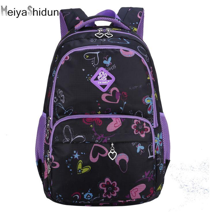 MeiyaShidun Children School Bags Causal Women Printing School Backpacks for Teenagers girls Rucksack Book Packs Mochila Infantil