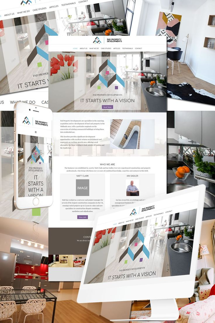 The New Website for PAD Property Developments https://hostcat.co.uk/project/pad-property-developments/