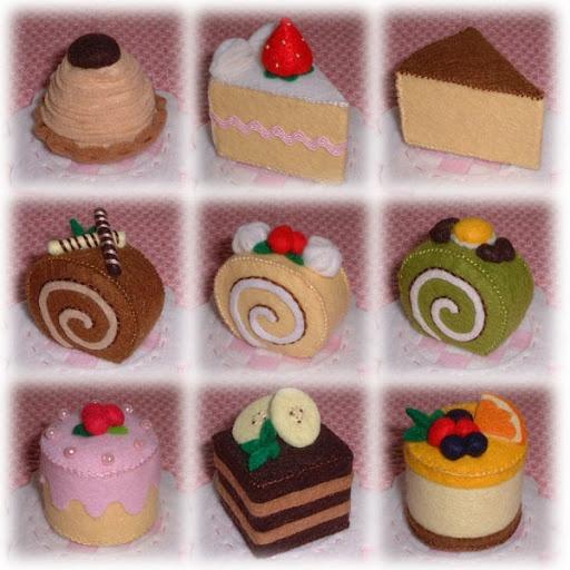 Felt Cake Inspiration * No instructions available.