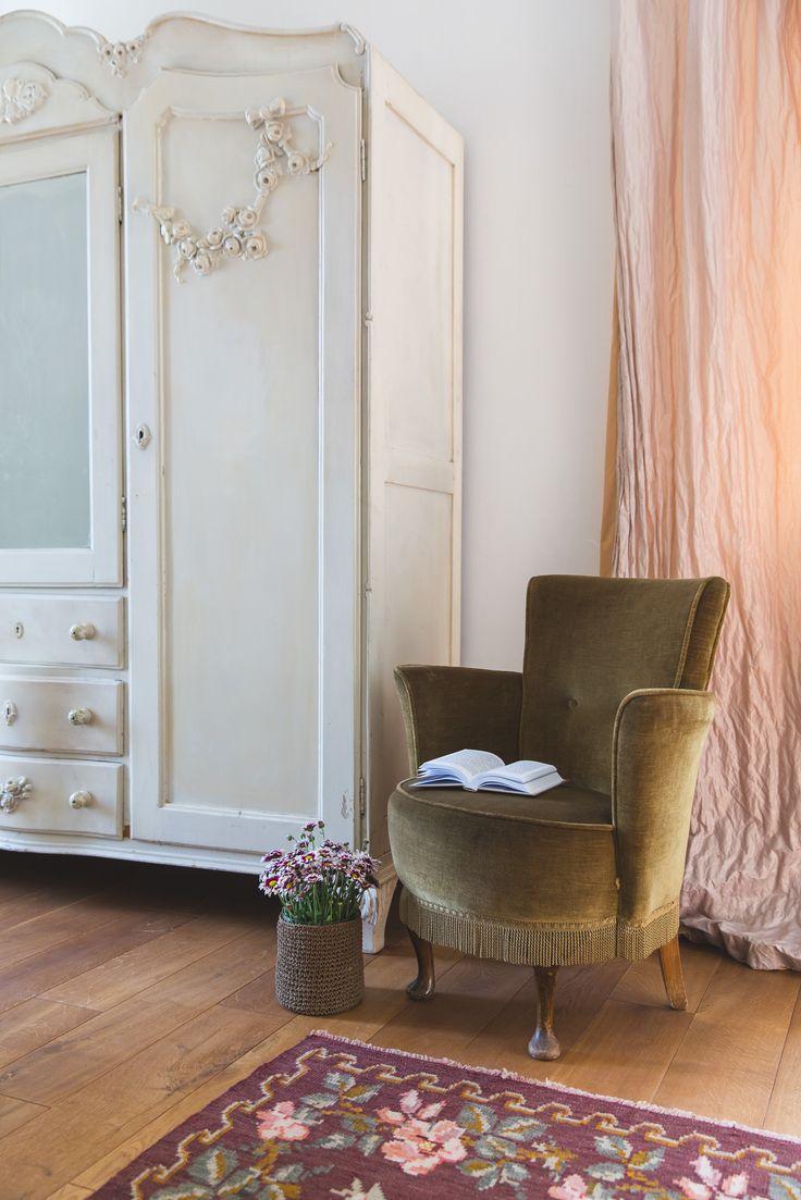 Comfy vintage armchair