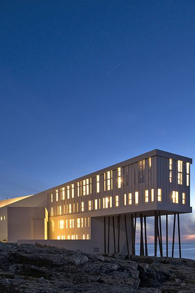 @fogoislandinn in Canada is a #Fodors100 winner in the All-Inclusive Vacations category. It's supremely peaceful.