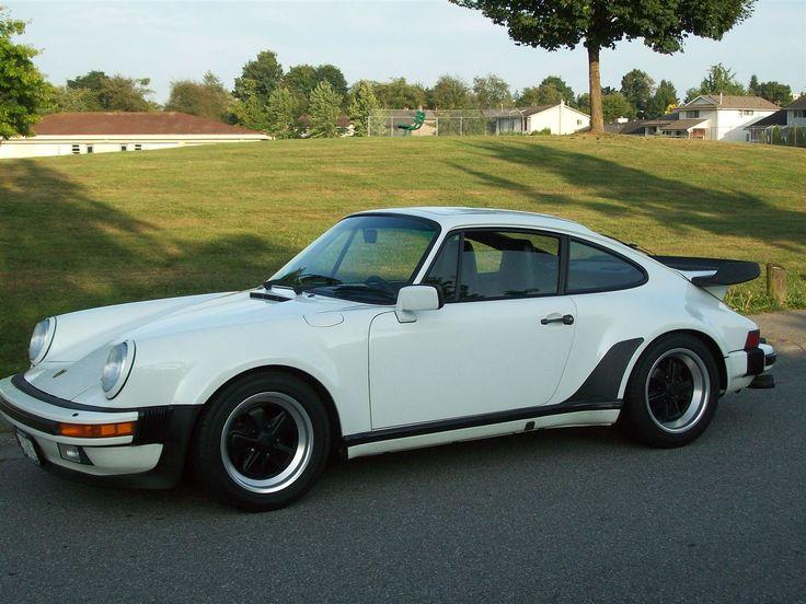 White Porsche 930