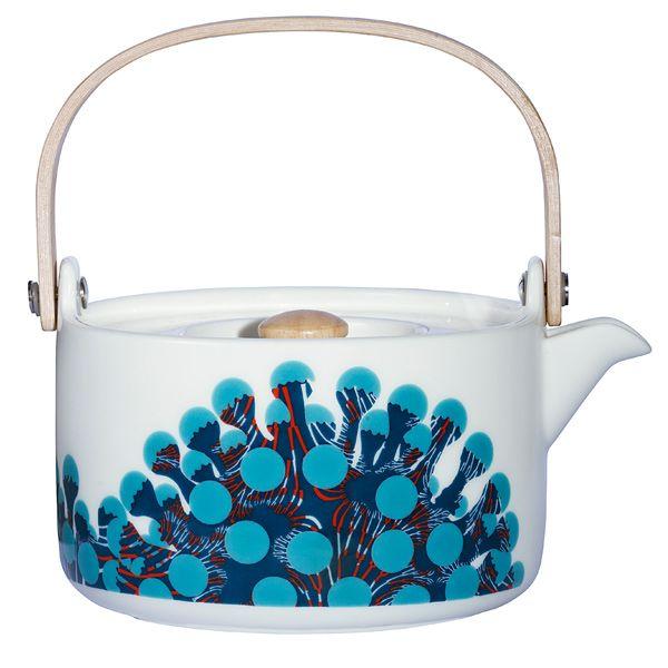 Merivuokko tea pot by Marimekko.