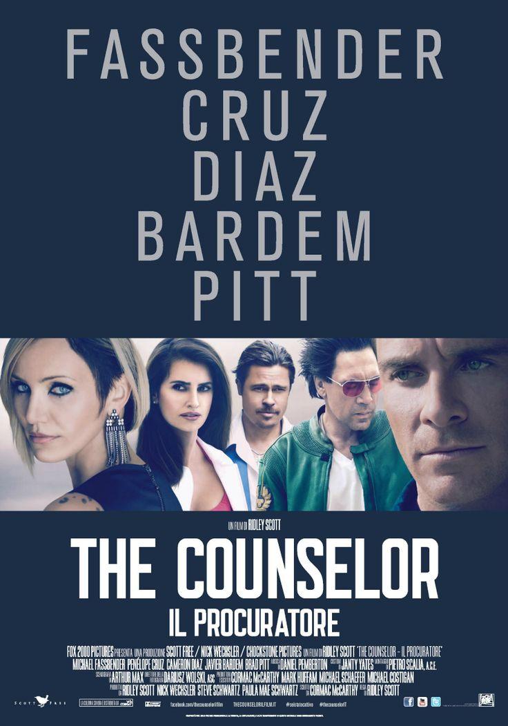 The Counselor - il procuratore., dal 16 gennaio al cinema.