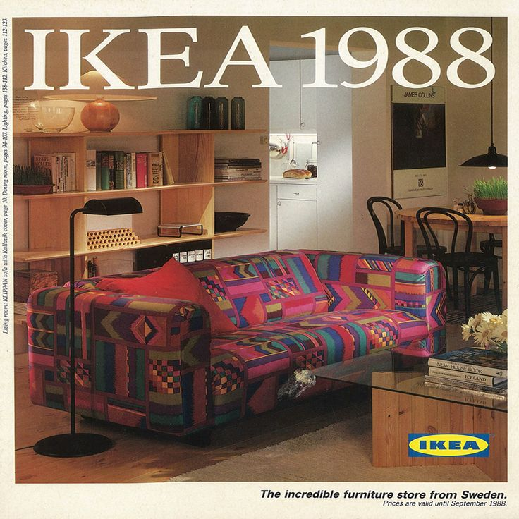 The 1988 Ikea Catalogue Cover Does Anyone Want Us To Bring That Sofa Back