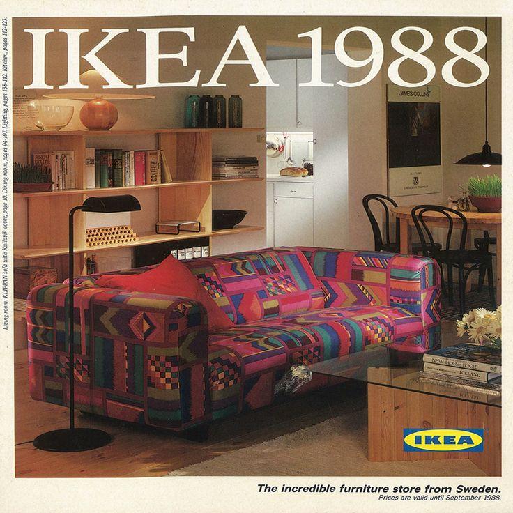 ikea furniture catalog. the 1988 ikea catalogue cover does anyone want us to bring that sofa back ikea furniture catalog
