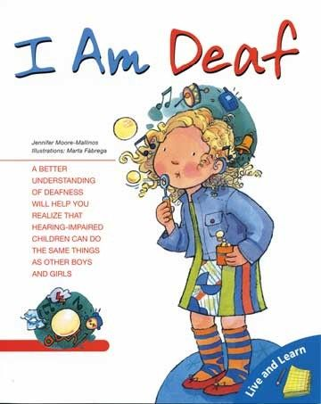 """I AM DEAF"" a children's storybook about her self confidence and her hearing loss. From a series focusing on children's viewpoints on their own physical challenges, lack self-confidence in going about their everyday activities and how to understand themselves while overcoming challenges."
