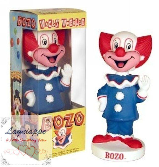"2001 RETIRED BOZO THE CLOWN WACKY WOBBLER BOBBLE HEAD FUNKO FIGURE 7"" TALL | eBay"