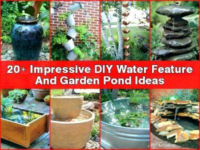20 Impressive Diy Water Feature And Garden Pond Ideas 640 x 480