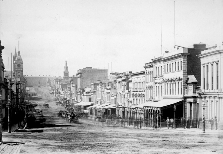 1872 Collins St looking East
