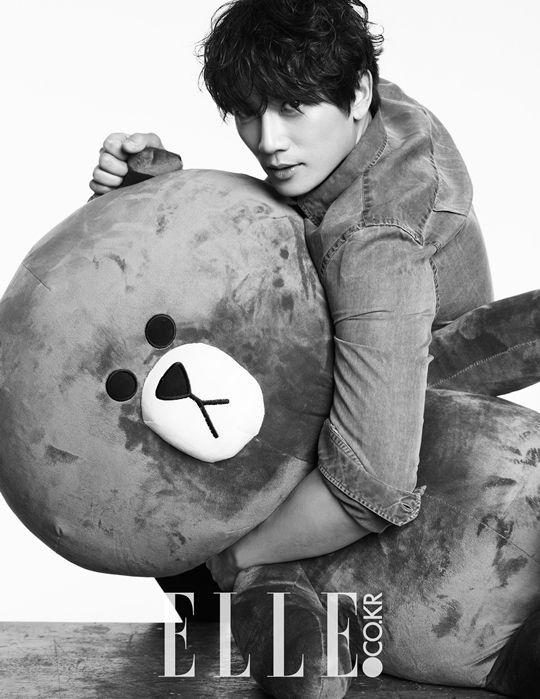 South Korean actor Ji Sung for ELLE's May '15 edition #jisung #elle #killmehealme #korea #southkorea