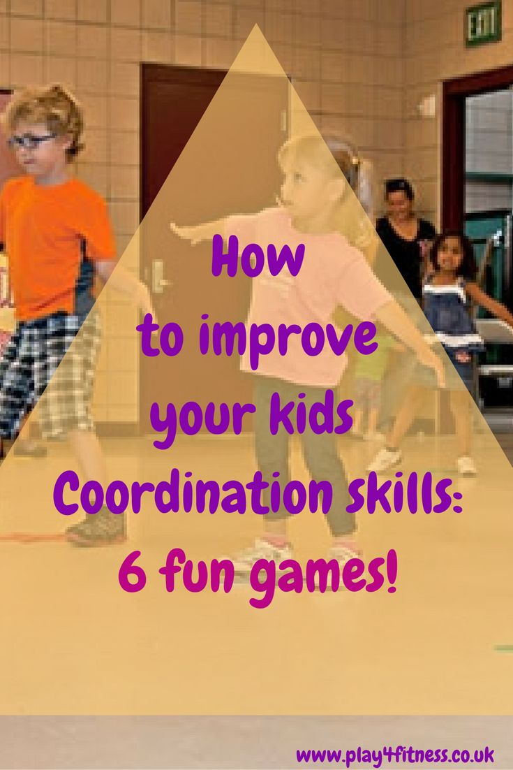 How to improve your kids Coordination skills-6 fun games!