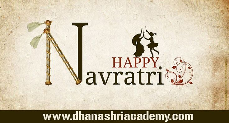 May your life be filled with happiness on this pious festival of Navratri, Happy Navratri!