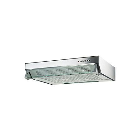 Cooke & Lewis CLVH60SS-C Silver Effect Integrated Cooker Hood, (W) 600mm | Departments | DIY at B&Q