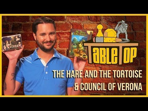 Hare&Tortoise/Council of Verona: Alison Haislip, Jessica Merizan + David Kwong on TableTop S03E04 - YouTube