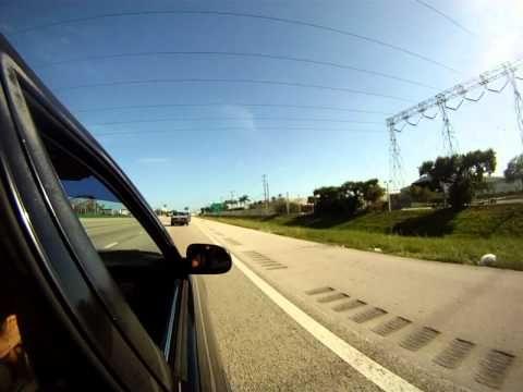 Corolla Car Club Proboards Cruisin on HWY 95 Miami 7/23/11