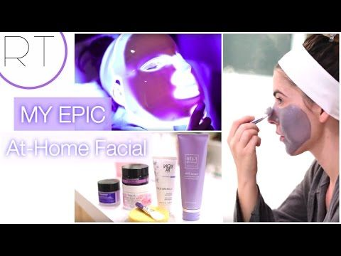 EPIC At Home Facial - YouTube