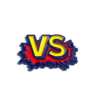"Pins & Patches :: LAPEL PINS :: Street Fighter II ""VS"" Pin"