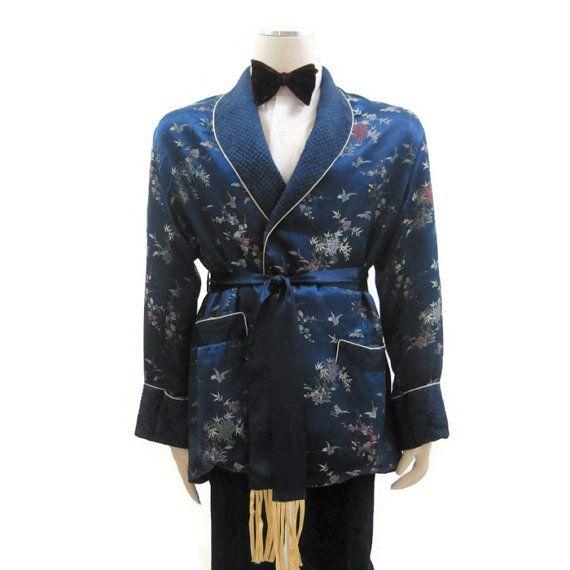 Satin oriental robe