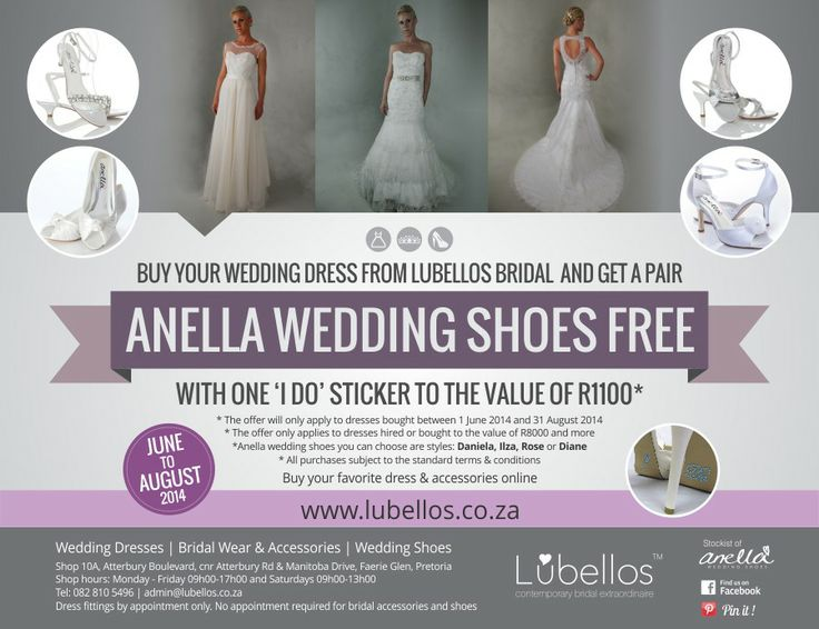 SPECIAL from Lubbelos Bridal! Don't miss out!