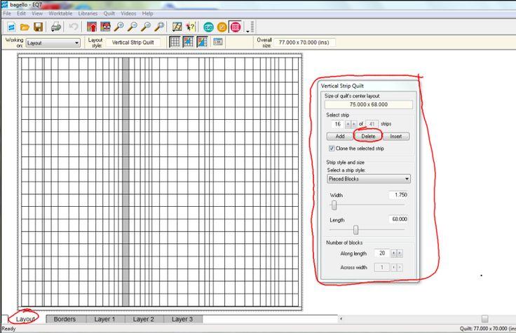 Software Bargello Quilt