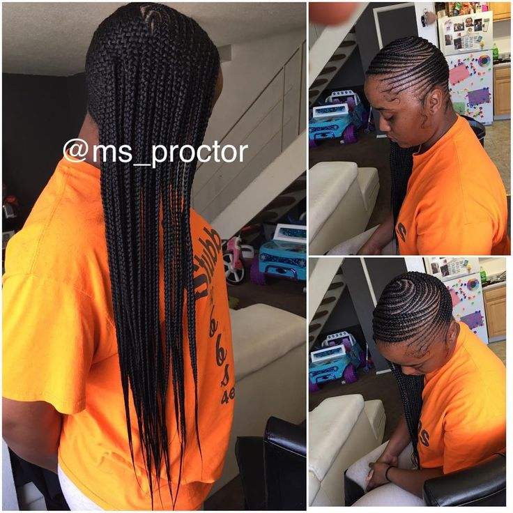"""305 Likes, 3 Comments - Hair_Junkie 💉 (@ms_proctor) on Instagram: """"Side cornrows 💁🏽 #dmvhairstylist #dmvbraider #dmvkidshairstylist #dmvhairbraider #sidecornrows"""""""