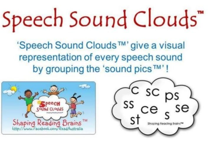 SSP Speech Sound Clouds Updated - Spelling Variations by Read Australia (Wiring Brains Education) via slideshare