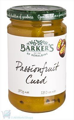New Zealand Passinfruit Curd - 370g | Shop New Zealand