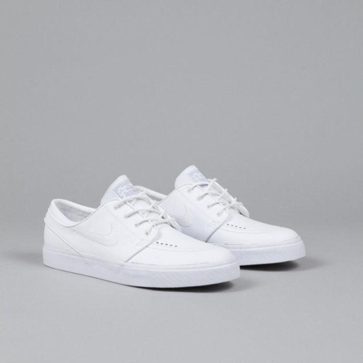 "Nike SB Zoom Stefan Janoski Leather - ""Whiteout""."