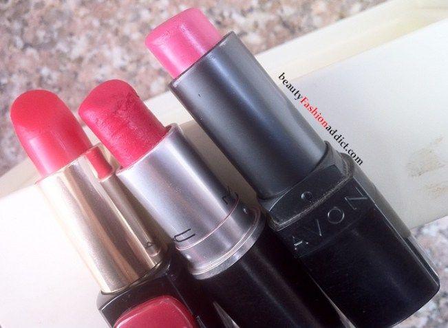 Hot Pink Lipsticks