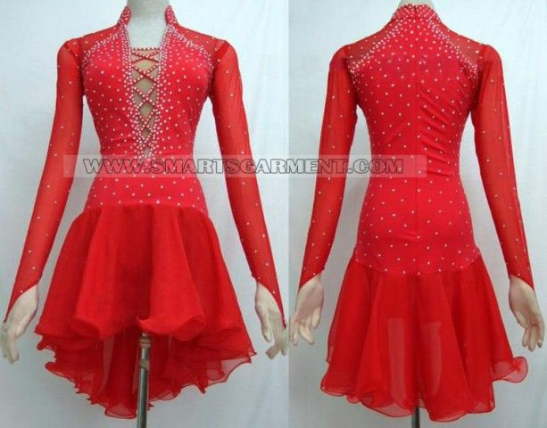 hot sale latin competition dance clothes,latin dance clothes for children:LD-SG1