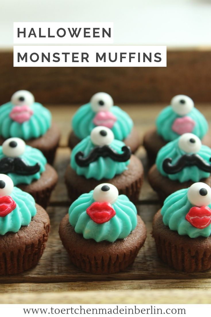 rezept fur halloween susse monster fur jede party monster party monster cupcakes